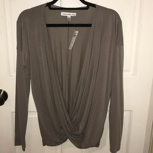 Abercrombie Cross Low Long Sleeve